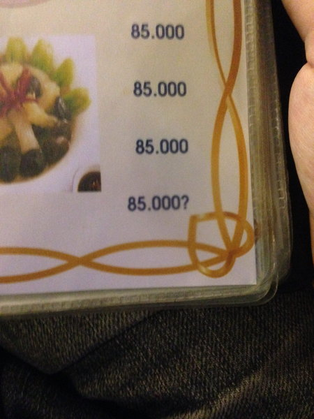 85,000VND?
